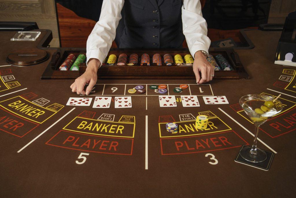 trò chơi trong casino